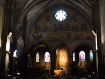 Inside Notre Dame du Taur built in the 14th C.