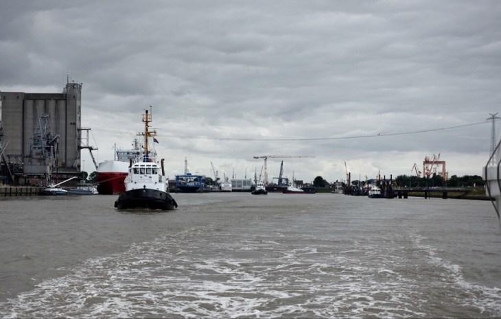 Emden harbour