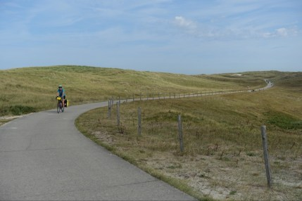 Cycling in the dunes