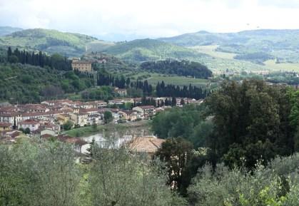 Town of Compiobbi on the Arno
