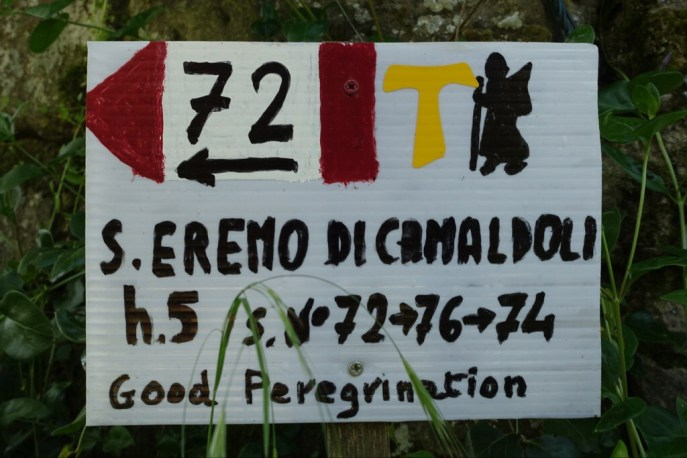 Signs like this are part of a big volunteer effor