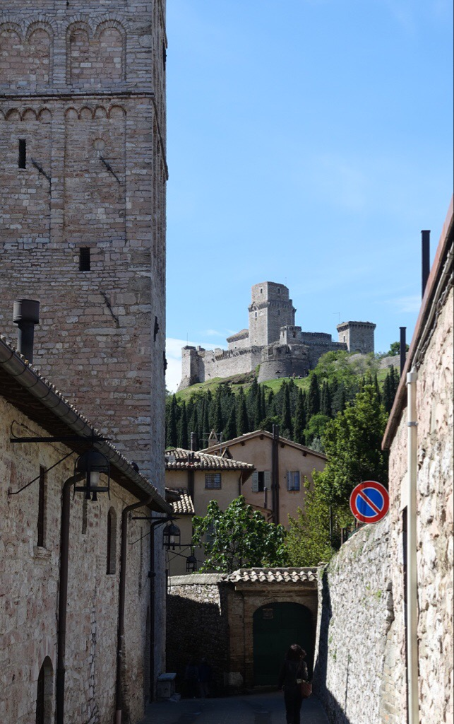 Castle above Assisi