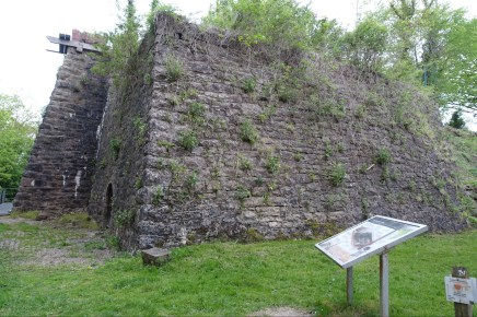 Lime kiln from the 1800s in Llanymynech