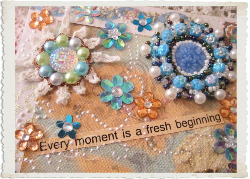 Pearls and swirls