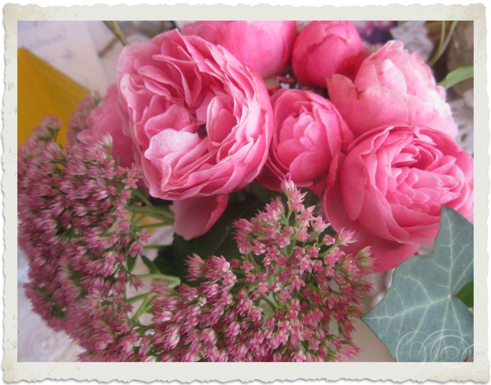 Leonardo DaVinci rose bouquet