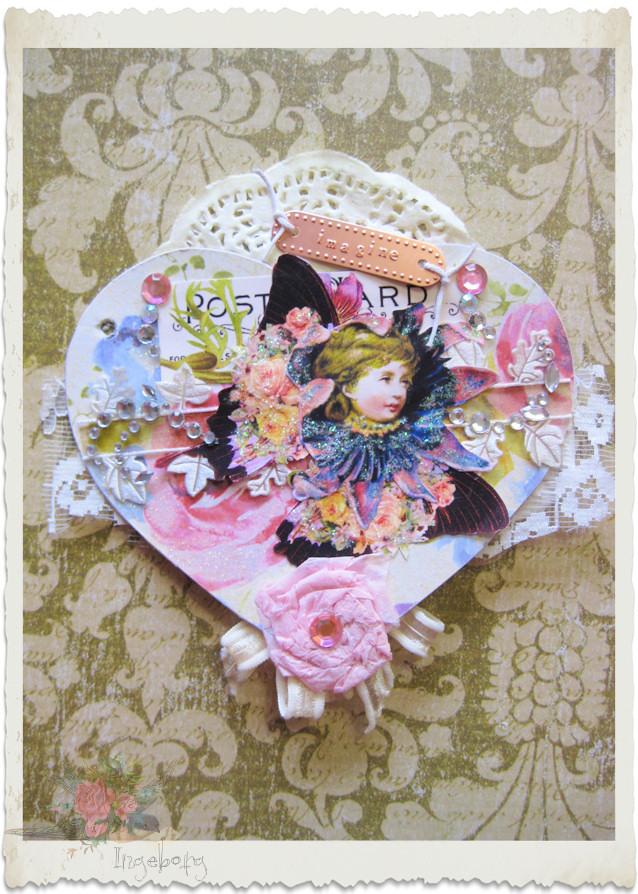 Fairy paper art
