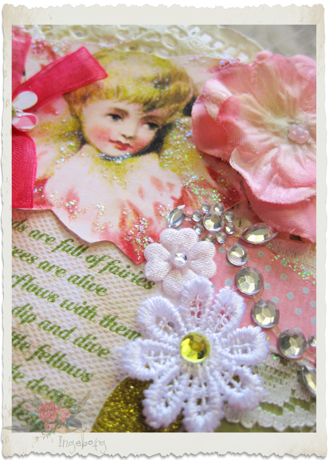 Pink vintage fairy