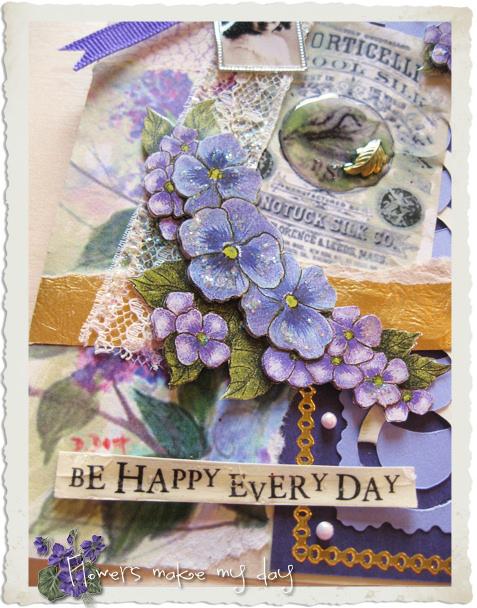 Details of purple card