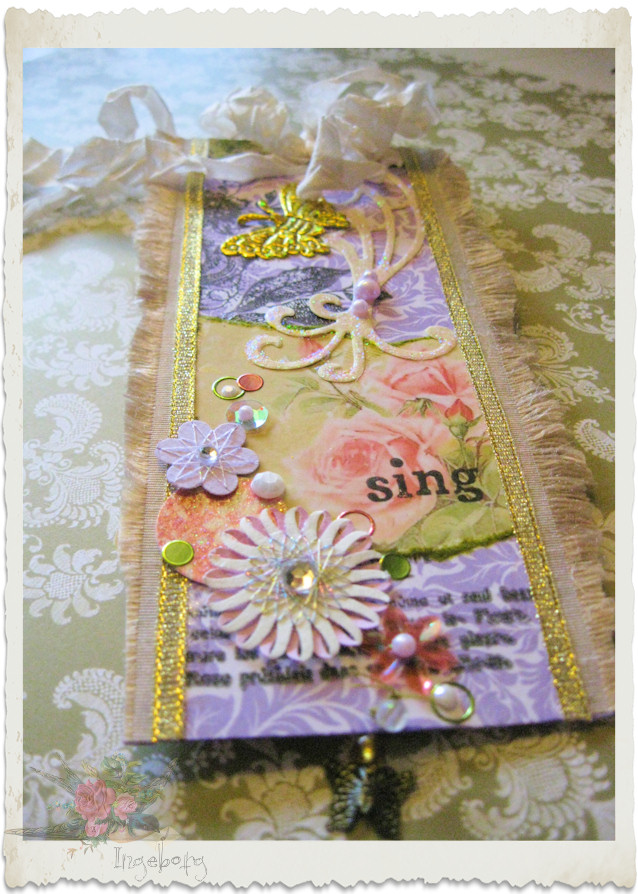 Details of Marie paper tag