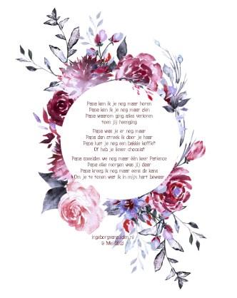 Gedicht voor papa (Dutch Poem 'Papa')