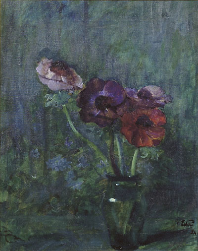"""Anemones"" by Eilif Peterssen"