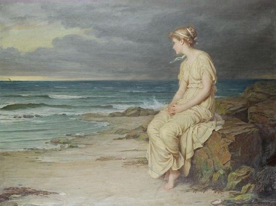 """Miranda"" by John William Waterhouse"