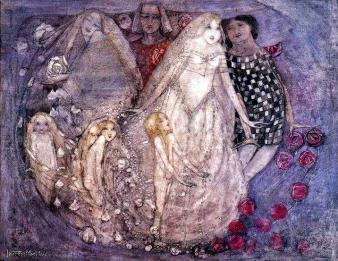 """A Paradox"" by Frances MacDonald"