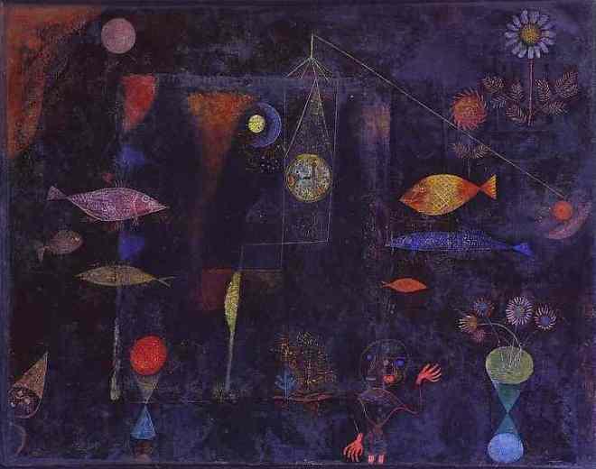 """Fish Magic"" by Paul Klee"