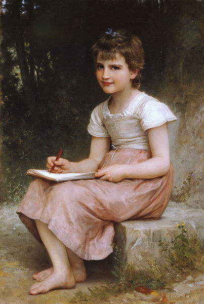 """""""A Calling"""" by William-Adolphe Bouguereau"""