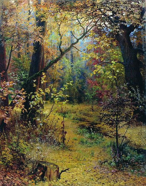 """Autumn Morning"" by Grigoriy Myasoyedov"