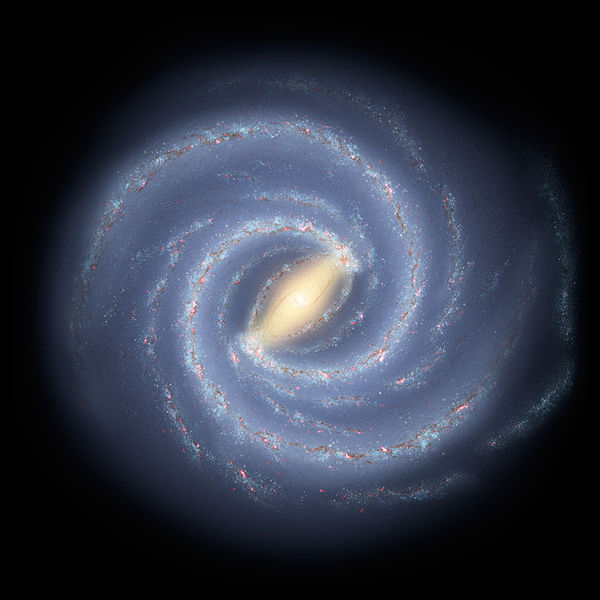 """Milky Way"" image by NASA"