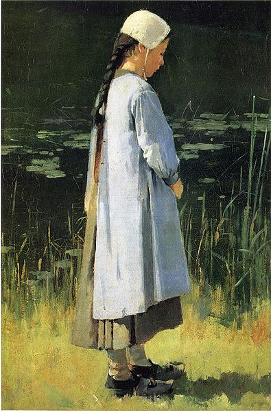 """Angelus"" by Theodore Robinson"