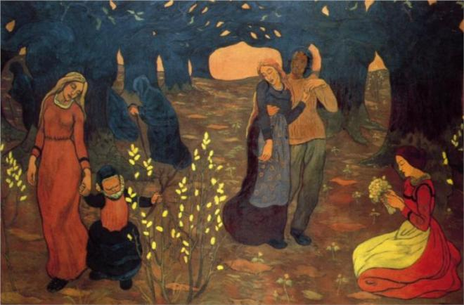 """The Ages of Life"" by Georges Lacombe"