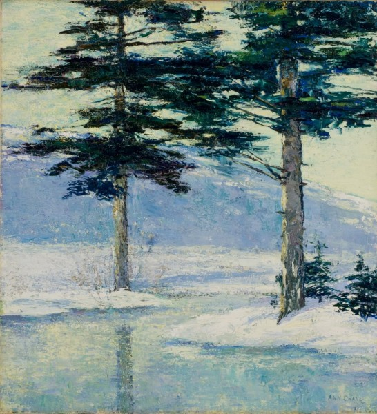 """Winter Light"" by Ann Brainerd Crane"