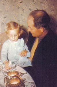 1958 ~ Barbara & Grandfather