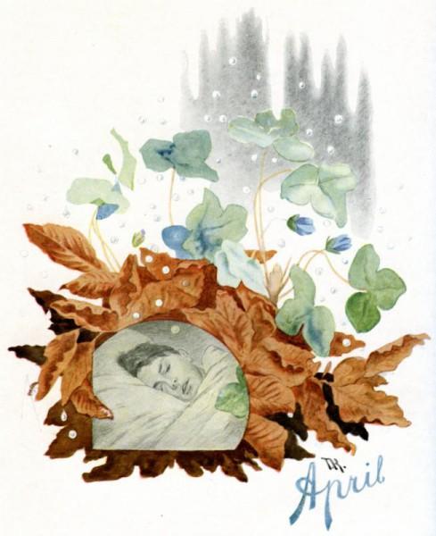 """""""April"""" by Theodor Kittelsen"""