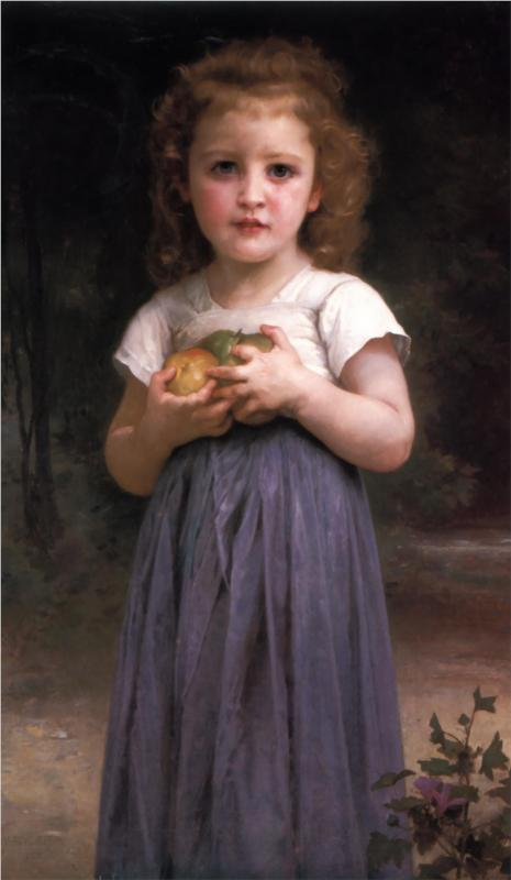 """Teen & Children"" by William-Adolphe Bouguereau (1825–1905) French Academic Painter"