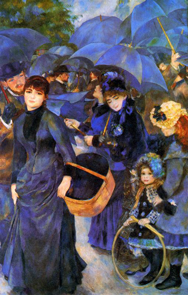PierreAugusteRenoir.umbrellas