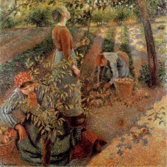 camillepissarro-the-apple-pickers