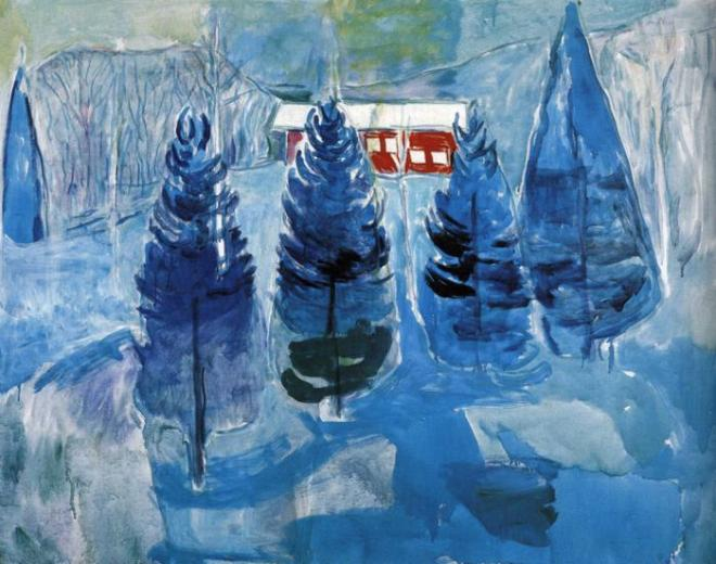 red-house-and-spruces-1927