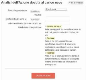 screenshot app carico neve - ingegnerone.com
