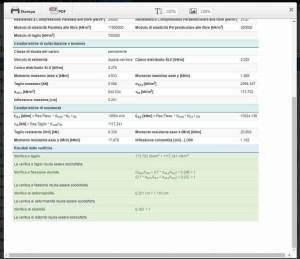 trave legno - output PDF - ingegnerone.com
