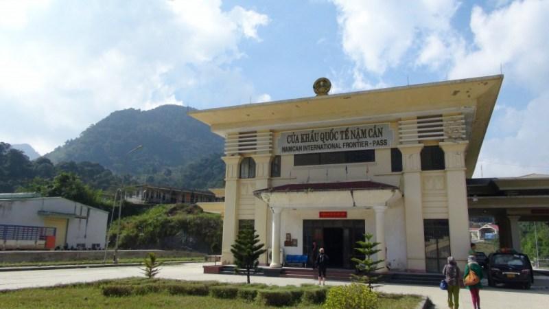 Grænseovergang mellem Vietnam og Laos