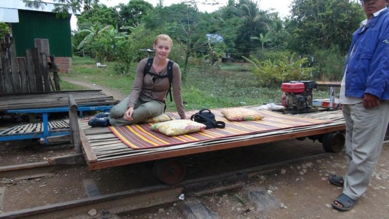 Battambang bamboo train