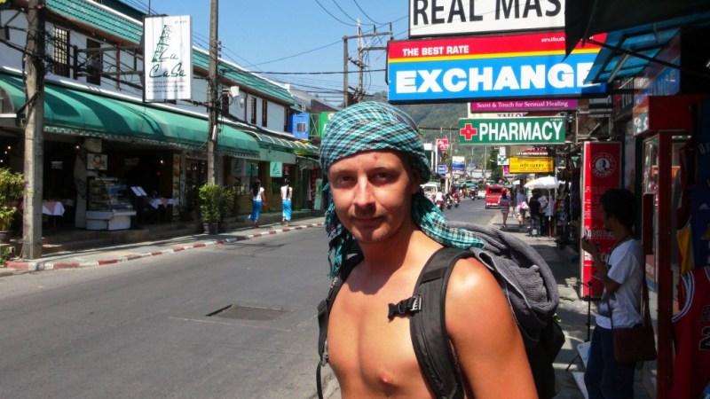 Patong beach, phuket, Thailand, backpacking