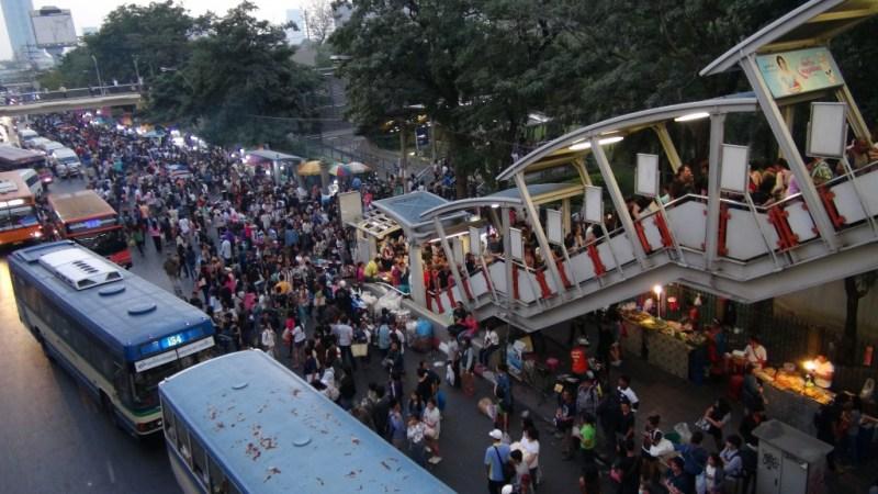 Demonstrationer i Bangkok