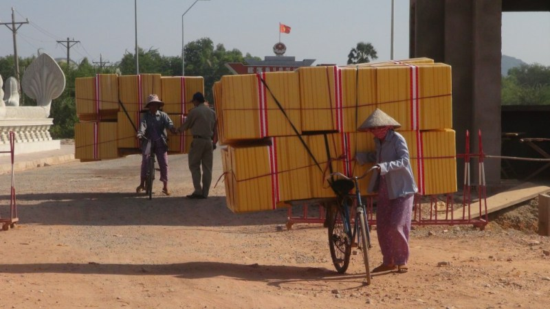 Vietnam - Cambodia grænse