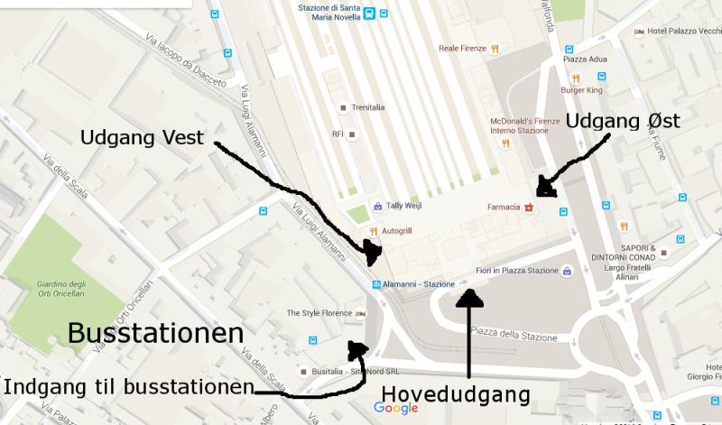 S.M.Novella Map