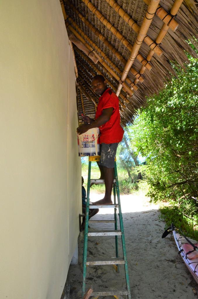nZuwa Lodge, pemba, Mozambique, arbejde