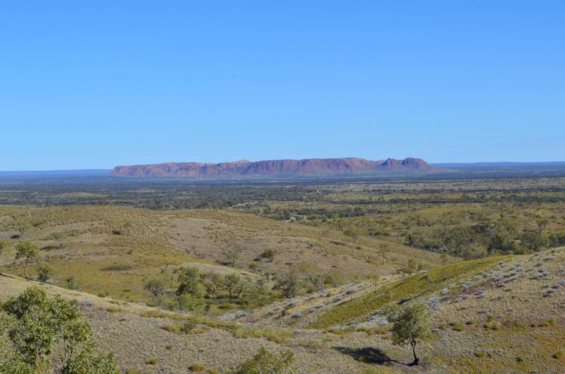 Gosse Bluff & Tyler's Pass - på vejen til Alice Springs