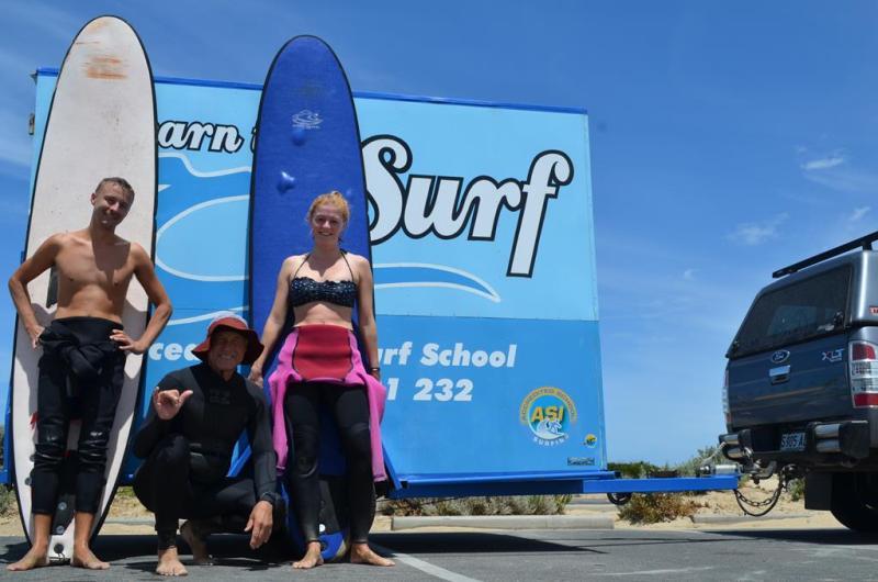 Surfing fik en tredje chance for a overbevise os, men uden held.