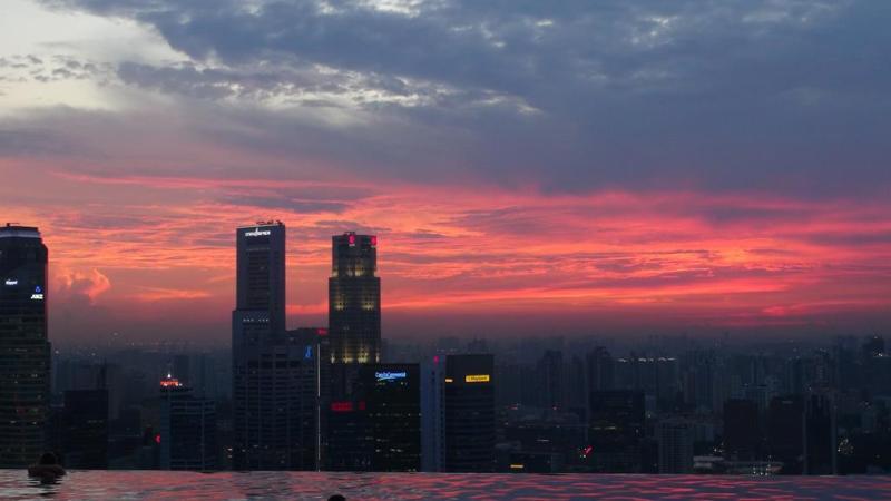 og selvfølgelig lige endnu en lækker solnedgang