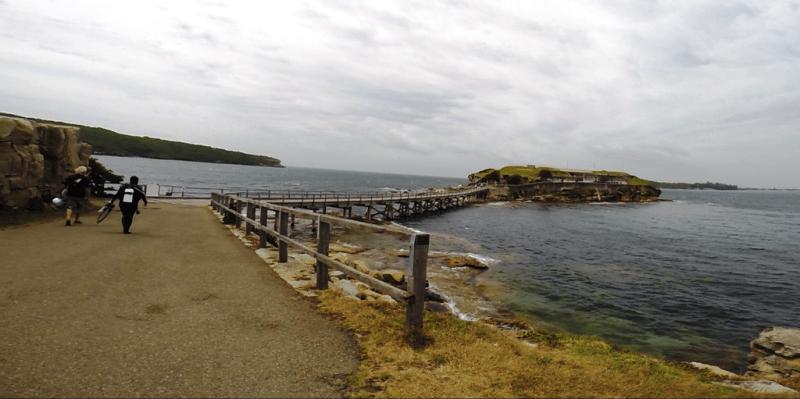 Dykkerstedet ved Bare island