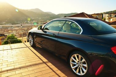 La Spezia, Italien, Cinque Terra, BMW