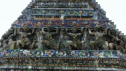bangkok, tempel, thailand