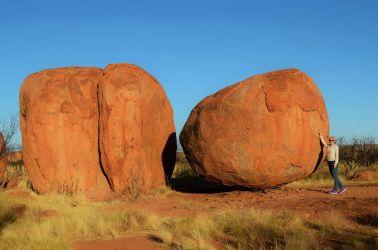 Australien, outback, devils marbles