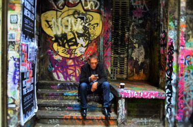 Australien, art, grafiti