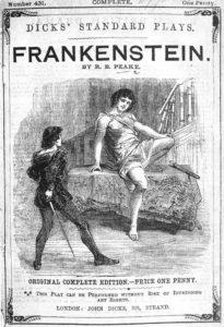 Frankenstein manoscritto