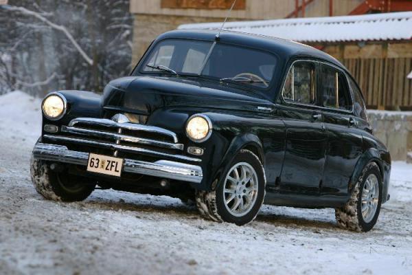 Газ 21 Волга тюнинг - фото