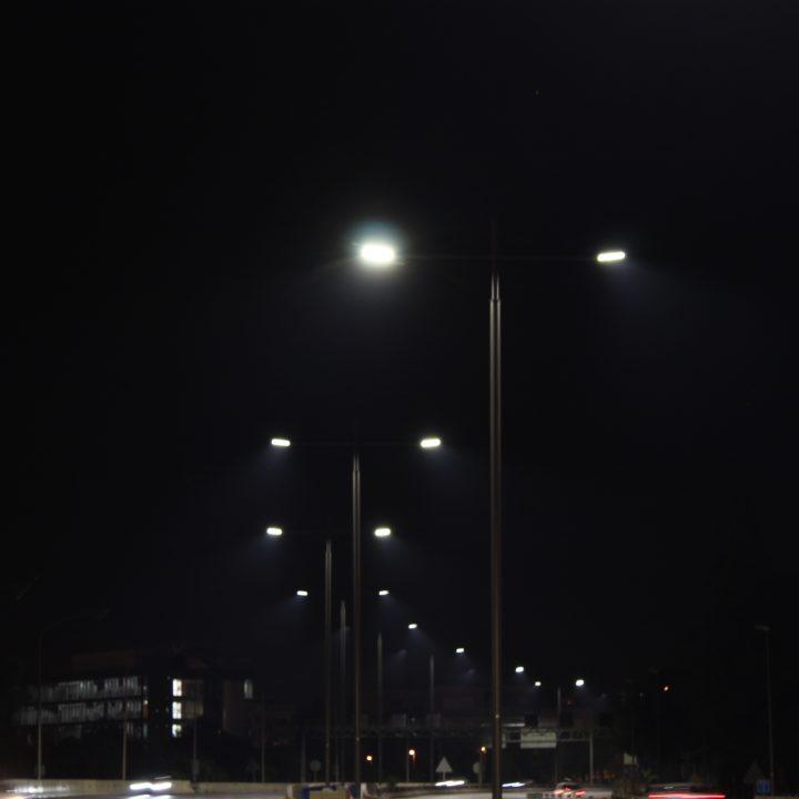 Nueva iluminación de la Avenida Diagonal